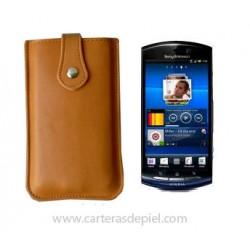 Funda de Móvil en Piel Sony Ericsson Xperia neo v