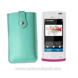 Funda de Móvil en Piel Nokia 500