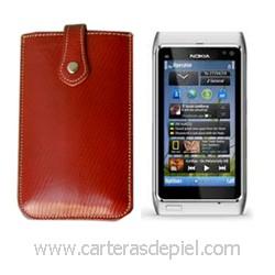 Funda de Móvil en Piel Nokia N8