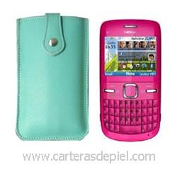 Funda de Móvil en Piel Nokia C3