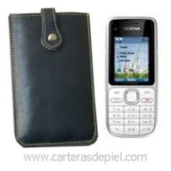 Funda de Móvil en Piel Nokia C2