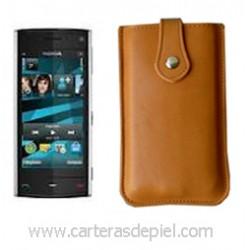 Funda de Móvil en Piel Nokia X6