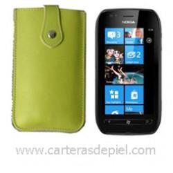 Funda de Móvil en Piel Nokia Lumia 710