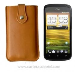 Funda de Móvil en Piel HTC One S