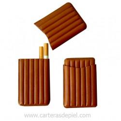 Pitillera piel-6 cigarrillos